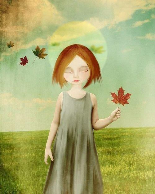 Autumn leaf By Aka Lousie