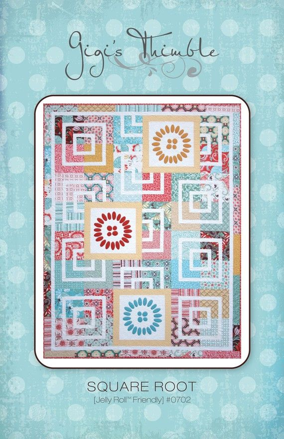 Square Root pattern 0702 by gigisthimble on Etsy, $9.00