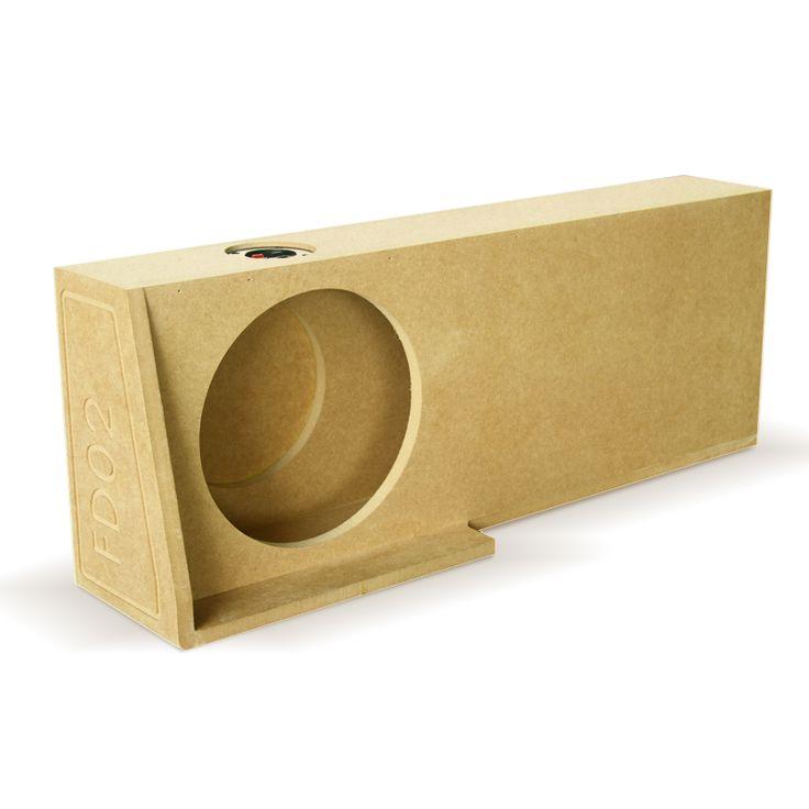 "Cajón Dbox FD02 para un subwoofer de 10"" pulgadas."