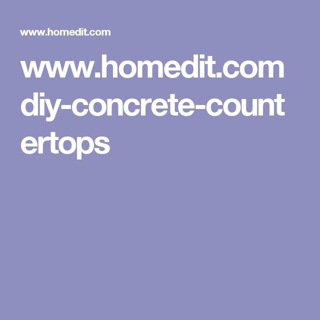 Best 25+ Diy Concrete Countertops Ideas On Pinterest | Concrete Table Top,  Concrete Table And Diy Concrete