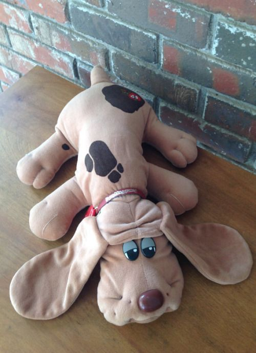 Vintage Original Pound Puppy by Tonka (via modluv on Etsy