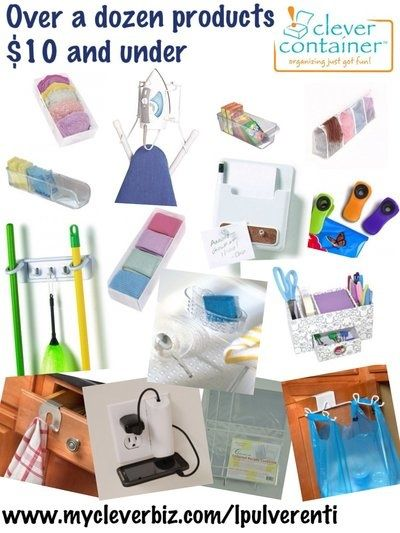 clever container has over a dozen products 10 and under wwwmycleverbizcom