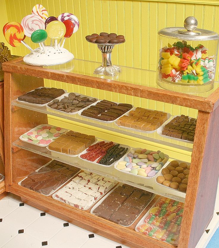 1000+ Images About Miniature Ice Cream Parlors And Candy