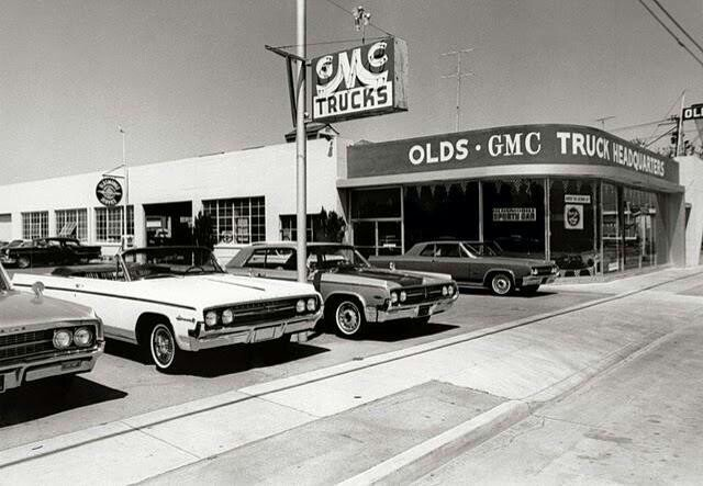 1963 Oldsmobile Dealership