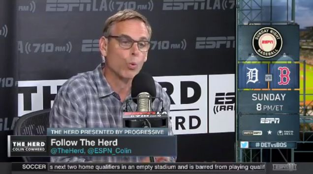 Colin Cowherd Is Mad We Didn't Run His Full Racist Musings, So Here