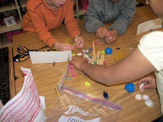 This simple matter exploration is so easy to prep!  Be sure to check out the other science activities!