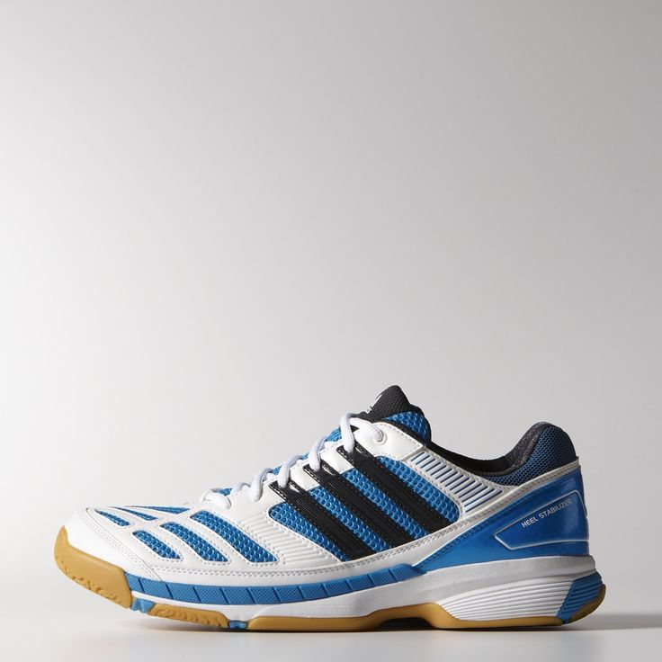 477884a0f526 Adidas Badminton Feather Court Shoes Mens White