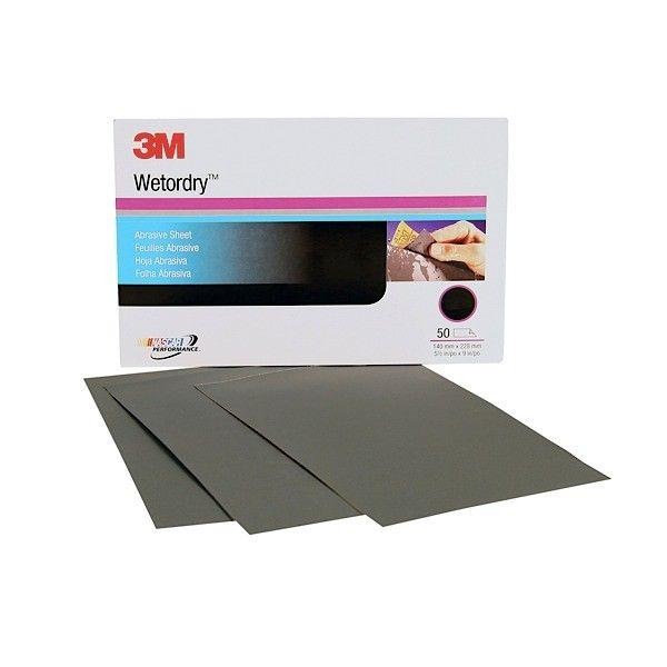 3M 401Q Wet or Dry Paper Sheet P2500 size (5 1/2 in x 9 in) (50 sheets/sleeve - Jual Harga Murah Amplas Terbaik Merk 3M  Amplas dengan backing awet tidak mudah sobek.  Isi: 50 sheets per sleeve.  Sangat cocok digunakan untuk wet sanding pada car body repairs.  Harga per sleeve.  http://tigaem.com/amplas/19-3m-401q-wet-or-dry-paper-sheet-p2500-size-5-12-in-x-9-in-50-sheetssleeve-jual-harga-murah-amplas-terbaik-merk-3m.html  #wetordrypapersheet #amplas #3M