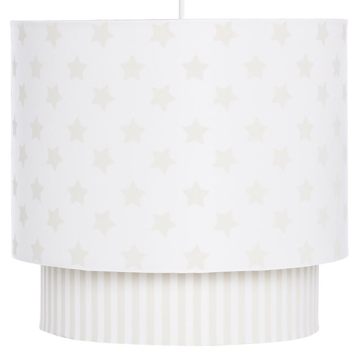 Nursery Lamp Shade with Star Print | Nursery | ASDA direct | OD ...
