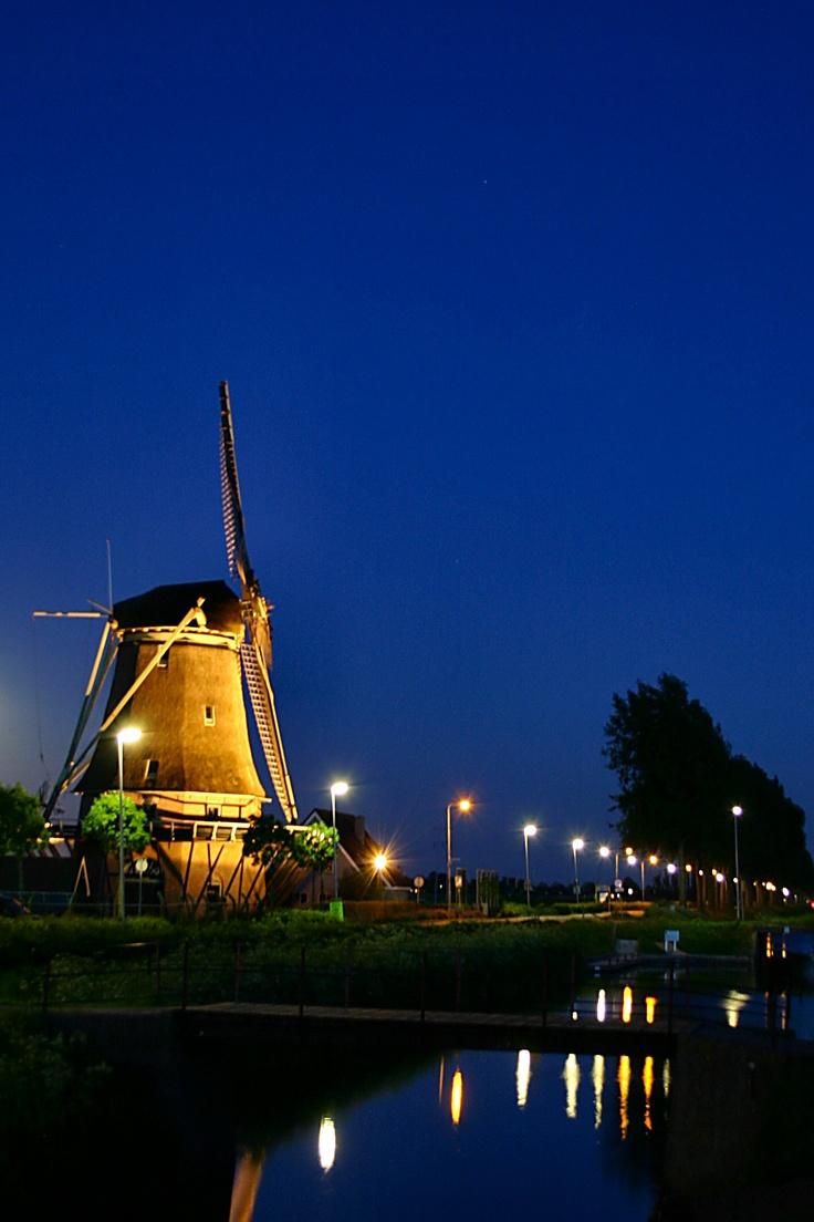 Windmill Wervershoof Netherlands