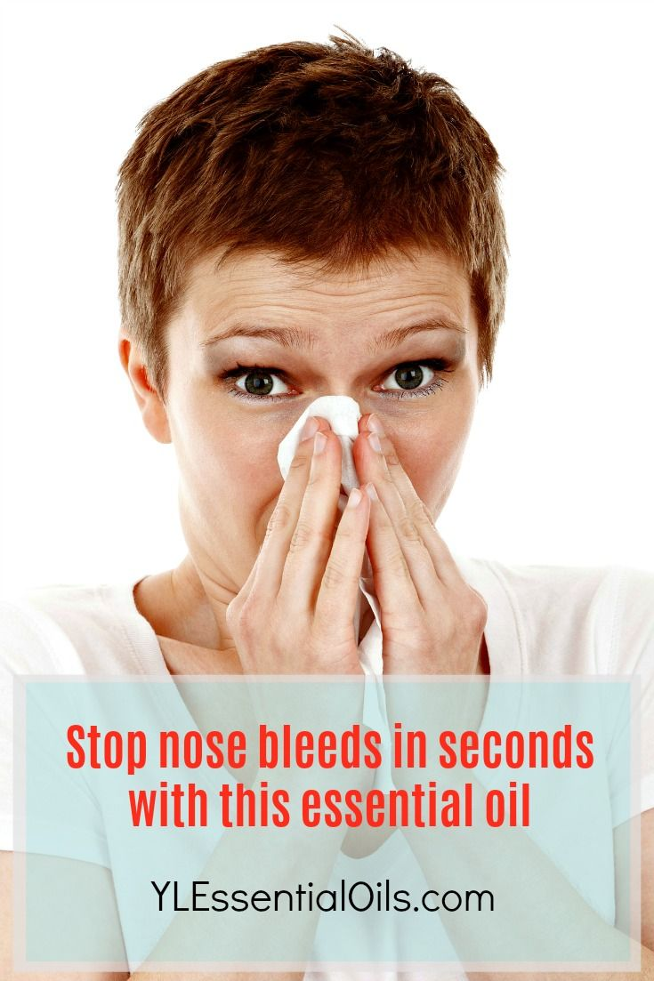 Stop nose bleeds in seconds with this essential oil - ylessentialoils.com