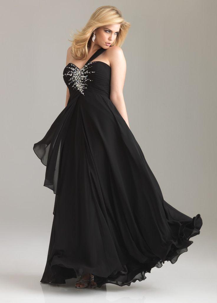 17 best ideas about black tie dresses on pinterest for Black tie wedding dresses plus size