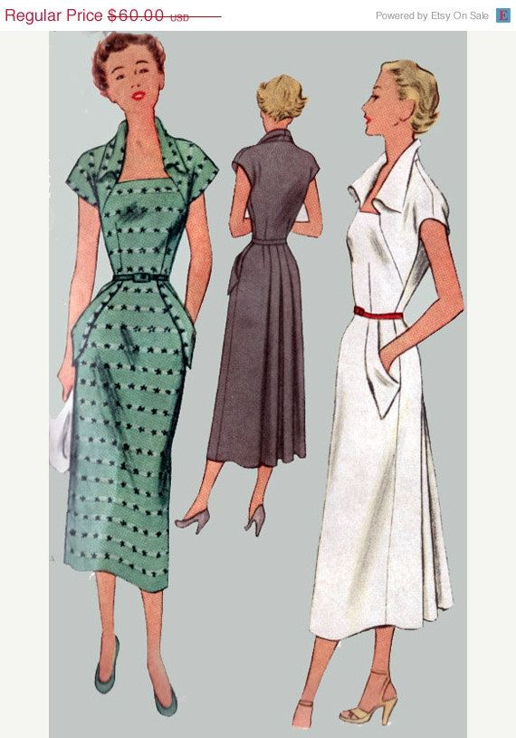 ON SALE 1950s Vintage Sewing Pattern McCall 8036 by sandritocat, $45.00