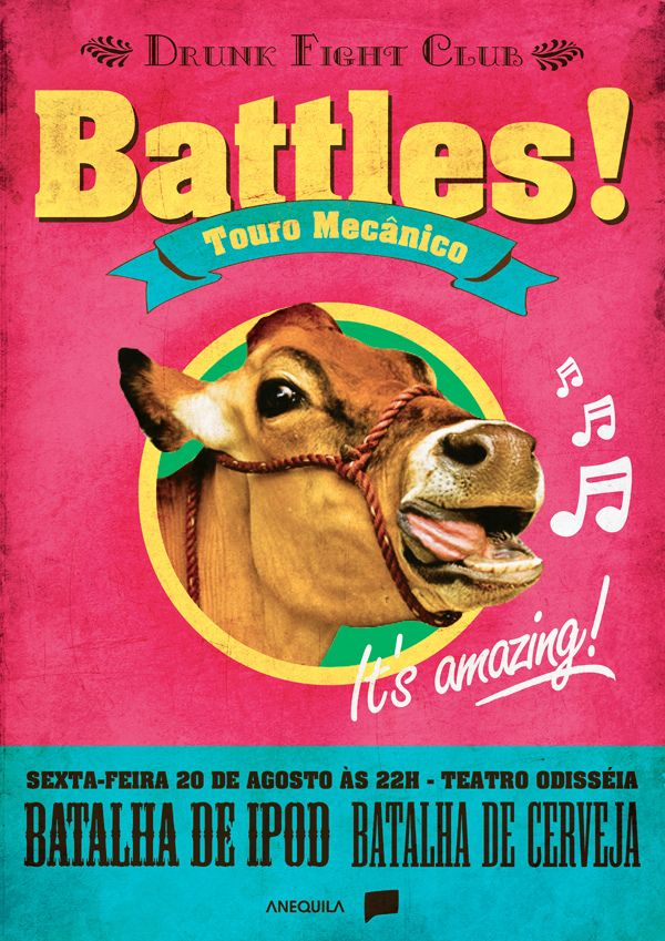 https://flic.kr/p/8p5imB | vaca_saudavel.jpeg | Battles com touro mecanico vai ser uma loucura!