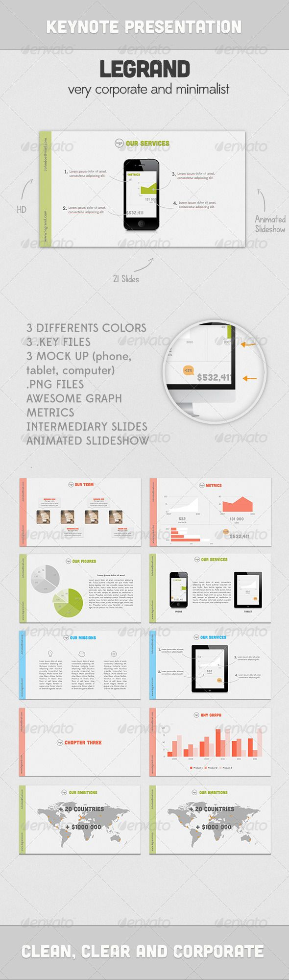 124 best keynote themes templates images on pinterest keynote legrand presentation presentation templatespresentation slidespresentation designkeynote pronofoot35fo Choice Image