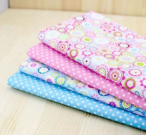 Cotton-Fabric-Pre-Cut-Cotton-Quilt-cloth-Fabric-for-Sewing-4-Colour-F32