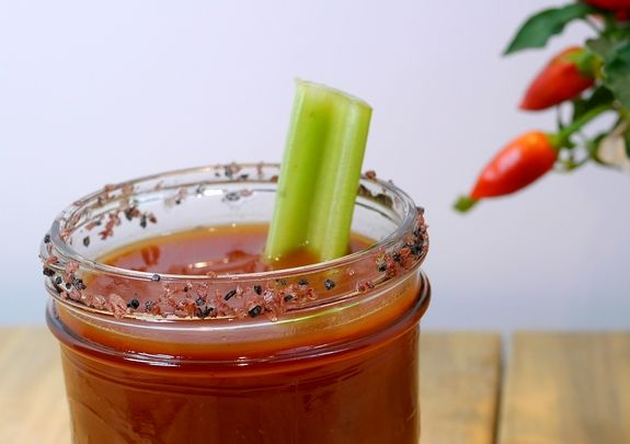 A Bloody Mary recipe that will rival all that you tried before from www.noblepig.com.