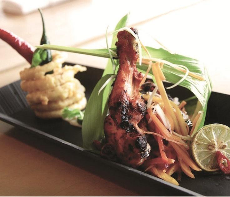 Tandoori Chicken With Cucumber Raita Recipe — Dishmaps