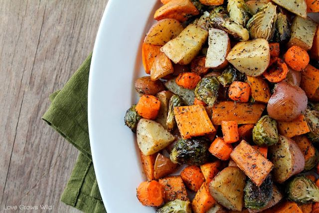 Roasted Fall Vegetables | Food Review