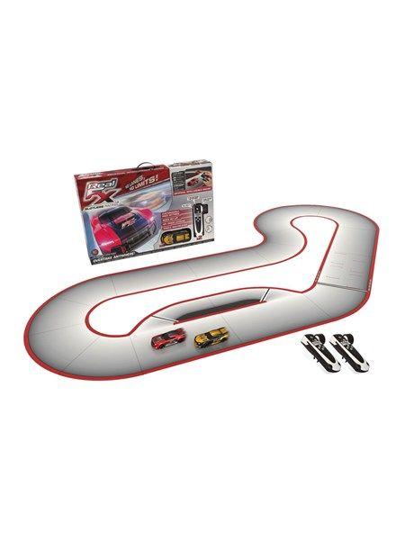 Real FX Racing Startsæt - alt hvad du skal bruge for at komme i gang med at køre på racerbane - bemærk: det er fjernstyrede biler - kan også køre på gulvet