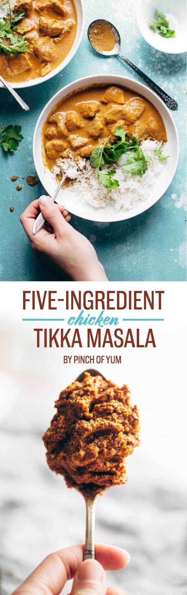 Five-Ingredient Chicken Tikka Masala | 7 Easy Summer Dinners To Eat This Week
