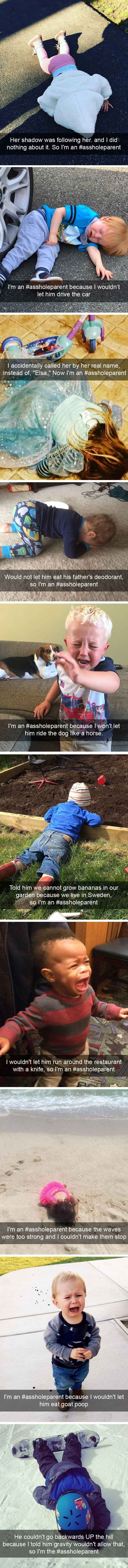 Asshole Parents Who Ruined Their Children's Lives