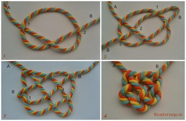 Los collares de nudo están de moda, y a partir de ahora vamos a poder hacer nuestras propias versiones.