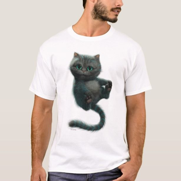 Cheshire Cat Kitten Chessur T Shirt Zazzle Com Cats And Kittens Animal Tshirt Kitten