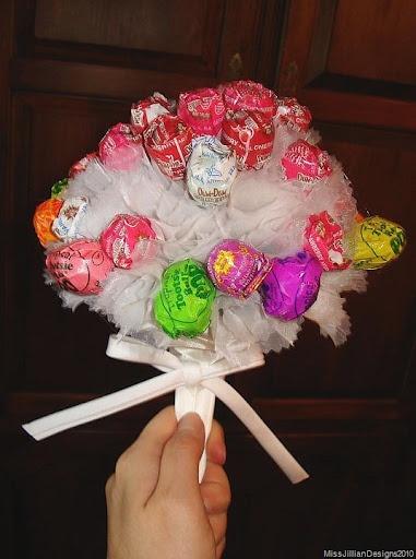 Sucker Lollie Pop Bouquet For Bachelorette Party Wedding