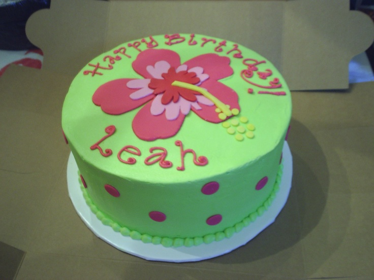 Cakes by Terri and Cameron: Hibiscus Cake