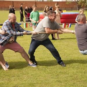 Adult sports day games for hire. Our adult sports day games can be hired in the UK.