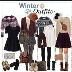 Winter outfits indiehipster