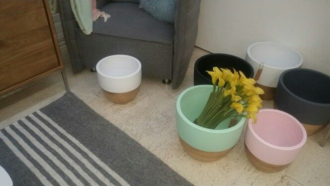 Pots for lounge