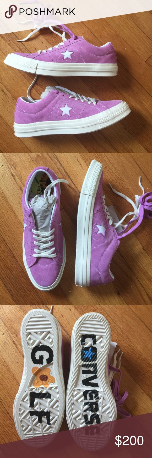 Converse tyler the creator golf Le fleur 100% Deadstock in box. Men's size 8= women's 10 Converse Shoes Sneakers