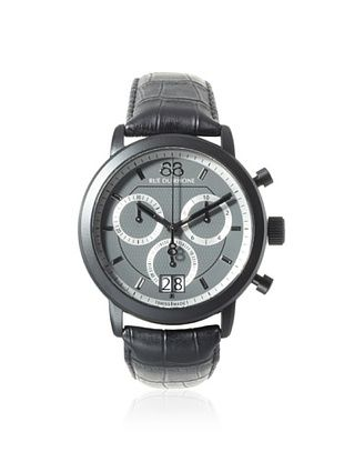 38% OFF 88 Rue du Rhone Men's 87WA130021 Black/Dark Grey Stainless Steel Watch