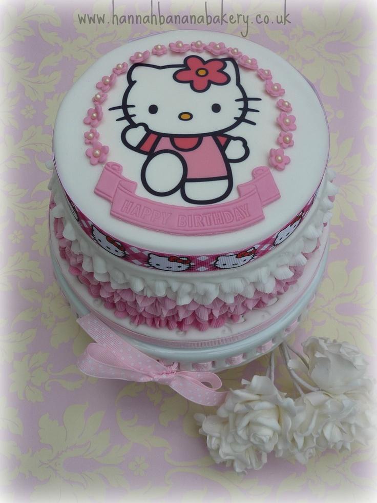 ...  Children cake, Birthday cakes and Hello kitty birthday cake