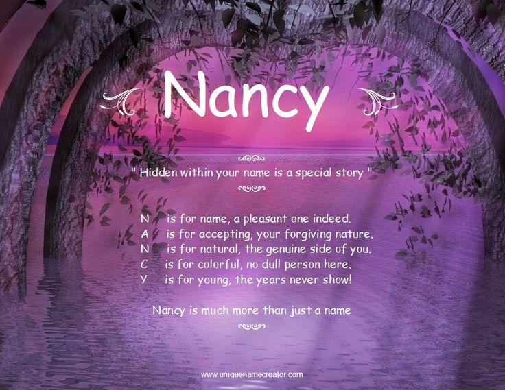 nancy unique name creator nancy 39 s pictures pinterest nancy dell 39 olio unique names and names. Black Bedroom Furniture Sets. Home Design Ideas