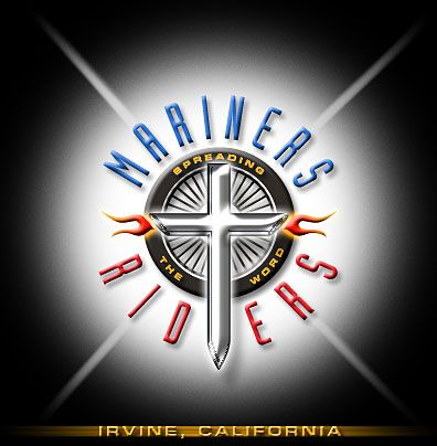 I was hired to design this logo for the motorcycle riders ministry at Mariners Church-Irvine, CA.