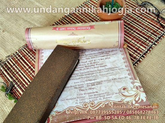 0877 3955 5285 (XL)  jual undangan pernikahan perkawinan nikah nikahan wedding invitation undangan nikah jogja UU13