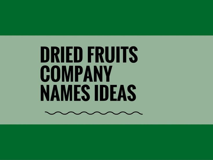 While your business may be extremely professional and important, choosing a creative company name can attract more attention.A Creative name is the most important thing of marketing. Check here creative, best Gift Dried Fruits Company names ideas for your inspiration.