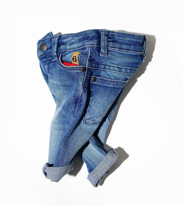 Woopeye abbigliamento per bambini, Neonato baby six pockets denim imps&elfs #imps&elfs   http://www.woopeye.com/shop-1115-6-pocket-baby-jeans.html