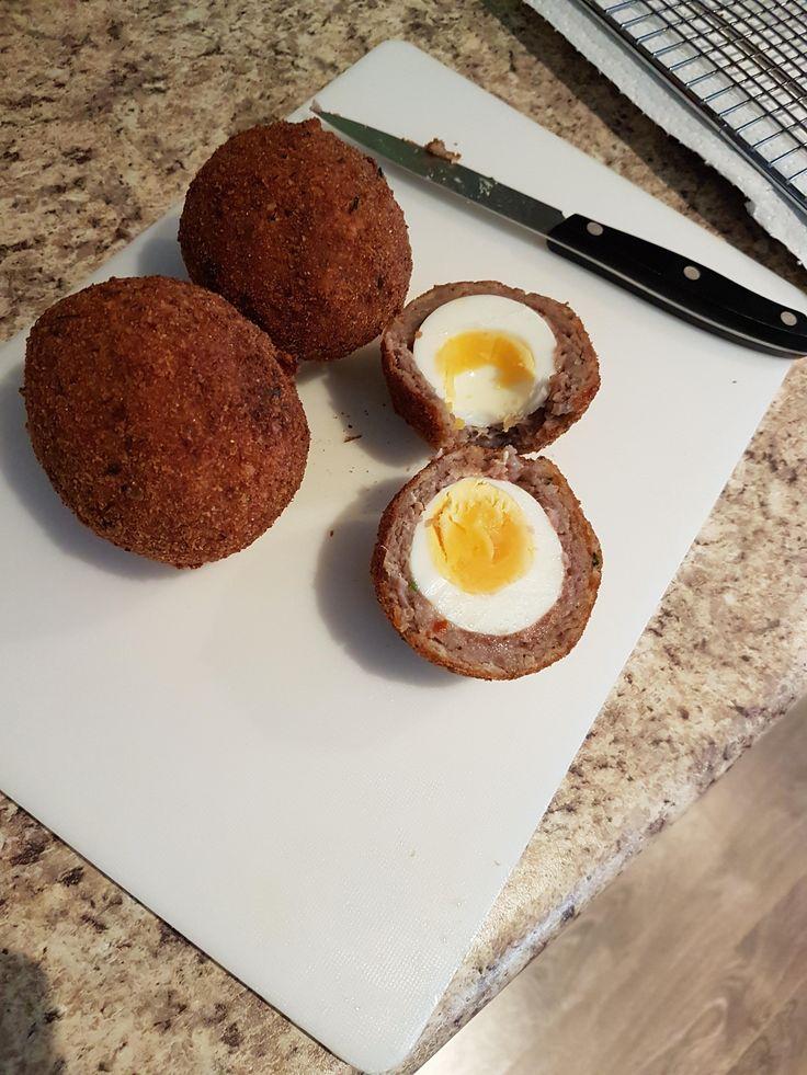 [homemade] Scotch Eggs