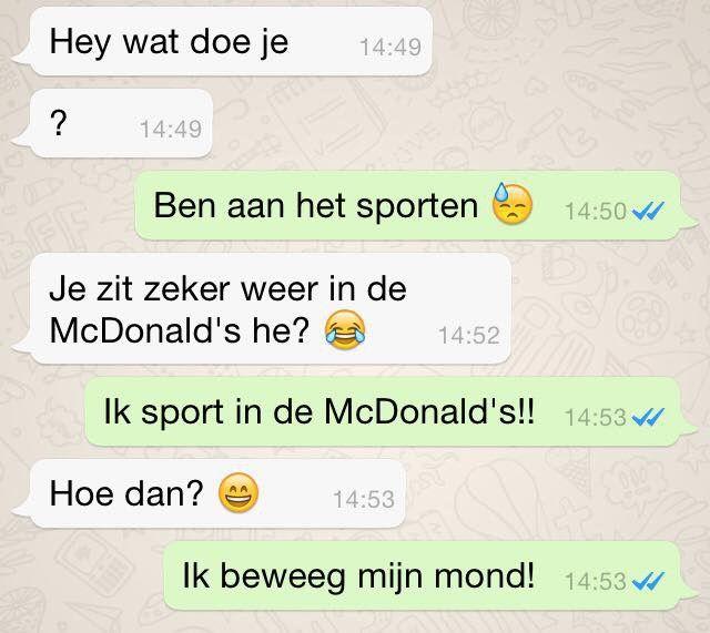 10 Grappige WhatsApp  gesprekken waar je sowieso om gaat lachen!
