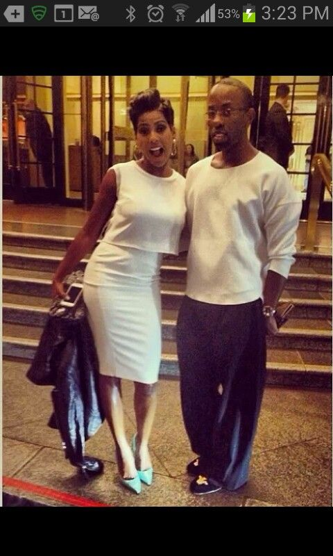 Tamron Hall... cute dress and shoes