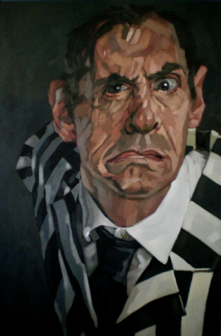 Mad II, 2013, oil on canvas, cm 195x130