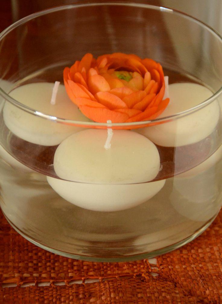 oltre 25 fantastiche idee su candele galleggianti su pinterest centrotavola di fiori. Black Bedroom Furniture Sets. Home Design Ideas