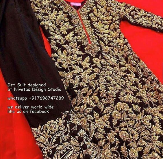 Punjabi salwar suit Punjabi salwar suit Punjabi Suits — for enquiry kindly send…