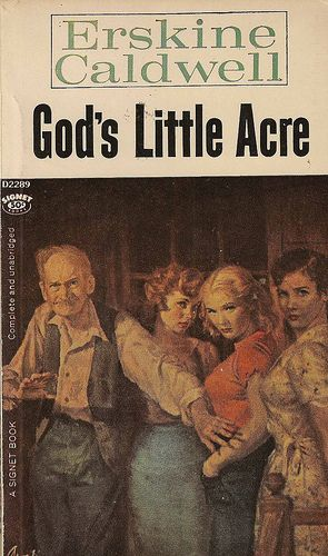 God's Little Acre by Erskine Caldwell, Modern Library
