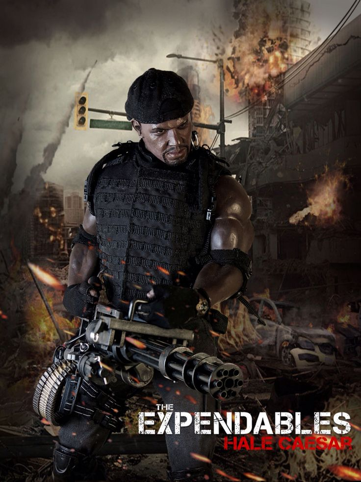 The Expendables: Hale Caesar 1/6 Costom Kitbash #Expendables