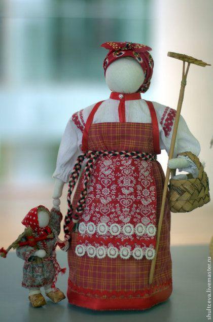 """Коллекционная кукла """"Лето.Страда"""" - интерьерная кукла,коллекционная кукла"""